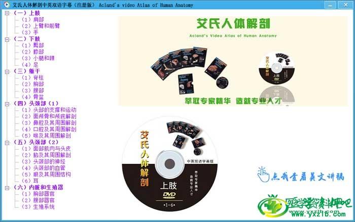 人体解剖:艾氏人体解剖学中文版全集
