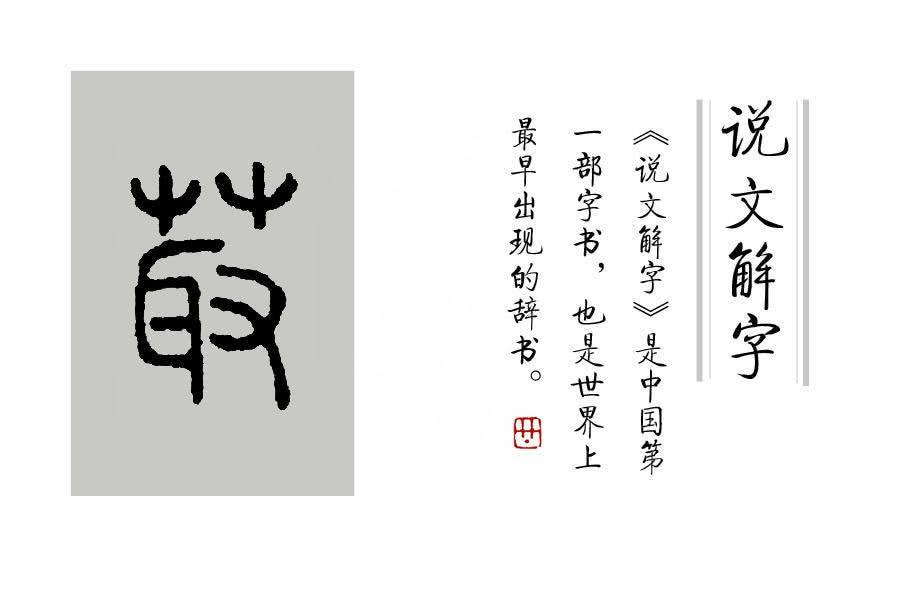莲子学院9岁+说文解字课程