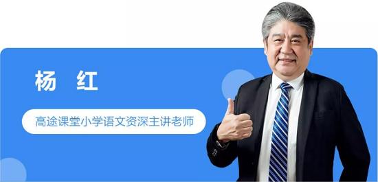 杨红小学语文独创高效阅读解题法
