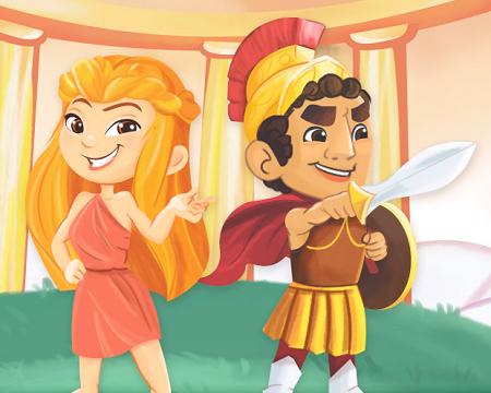徐来希腊神话课:趣讲中西方神话